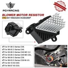 High Quanlity Final Stage Car Heater Blower Motor Resistor for BMW E46 E39 X5 X3 64116923204 64116929486 64118385549 64118364173