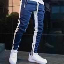 Street Fashion Jogger 2020 Men's High Street Hot Sale Gym Fitness Trousers Sports Leisure Running Training Zipper Foot Pants