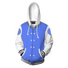 River City หญิง Kyoko เสื้อเบสบอลคอสเพลย์เครื่องแต่งกายผู้ใหญ่เสื้อซิปเสื้อ Hoodie Sweatshirt สำหรับผู้ชายผู้หญิง Unisex