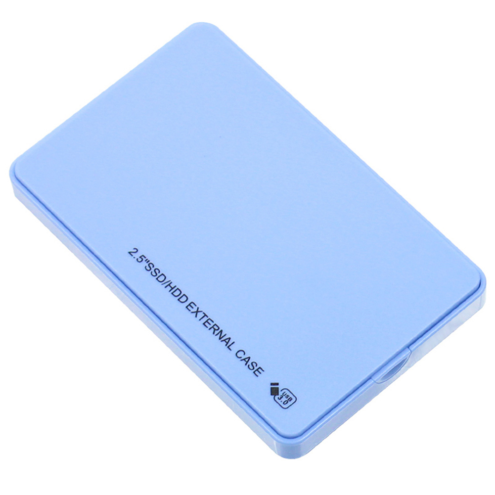 5Gbps 2.5in USB3.0 SATA Hard Disk Drive Box SSD External Enclosure Case With USB Cable B88