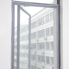 Pantalla de Mosquito, pantalla de ventana, pantalla de ventana autónomo, cortina de ventana no perforada, autoadhesiva, desmontable para el hogar