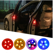 Universele Led Auto Opening Deur Veiligheid Waarschuwing Anti-Collision Lights Magnetische Sensor Strobe Knipperende Alarm Lights Parking Lamp(China)