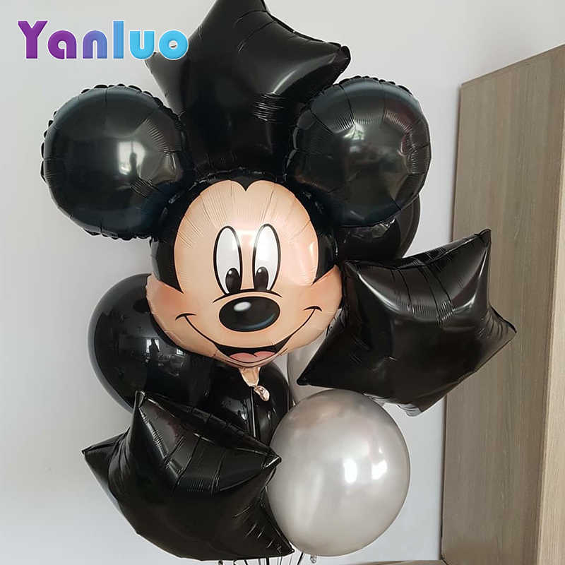 Mickey Minnie Mouse Ballonnen Cartoon Folie Kids Verjaardag Ballon Baby Shower Decorations Gunst Globos
