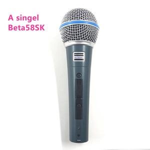 Image 4 - Super Nieren Mikrofon Dynamische Gesangs Wired Mikrofon Professionelle Beta58A Beta 58A 58 EINE Mic Für Karaoke Microfono Microfone
