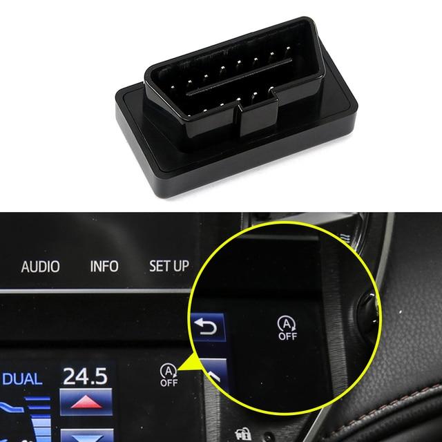 Für Toyota Crown S210 S220 2012-2020 OBD2 Auto Smart Auto Stop Canceller Automatische Stop Starten Motor System Eliminator näher
