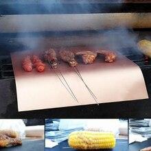 Тефлоновый тепловой пресс-панель пищевой Стекловолокно ткань коврик многоразовый легко моющийся коврик для выпечки готовки инструмент многоцелевой