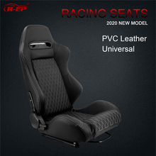 Racing-Car-Seat Bucket-Seats Simulator Sport-Car Adjustable Universal R-EP for Black
