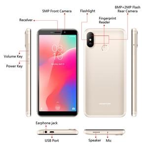 "Image 5 - Original version HOMTOM C1 16G ROM 5.5""Mobile Phone 13MP Camera Fingerprint 18:9 Display Android 8.1 MT6580A Unlock Smartphone"