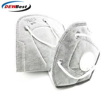 Lues House N95 Non-woven Valved Disposable Respirator Mask