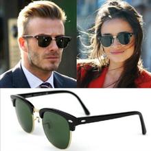 Spolaryzowane okulary mężczyźni moda Night Vision okulary jazdy okulary Retro okrągłe odcienie okulary męski kierowca gogle tanie tanio CN (pochodzenie) Anti-glare Polaryzacja Anty-uv Ochrona przed promieniowaniem