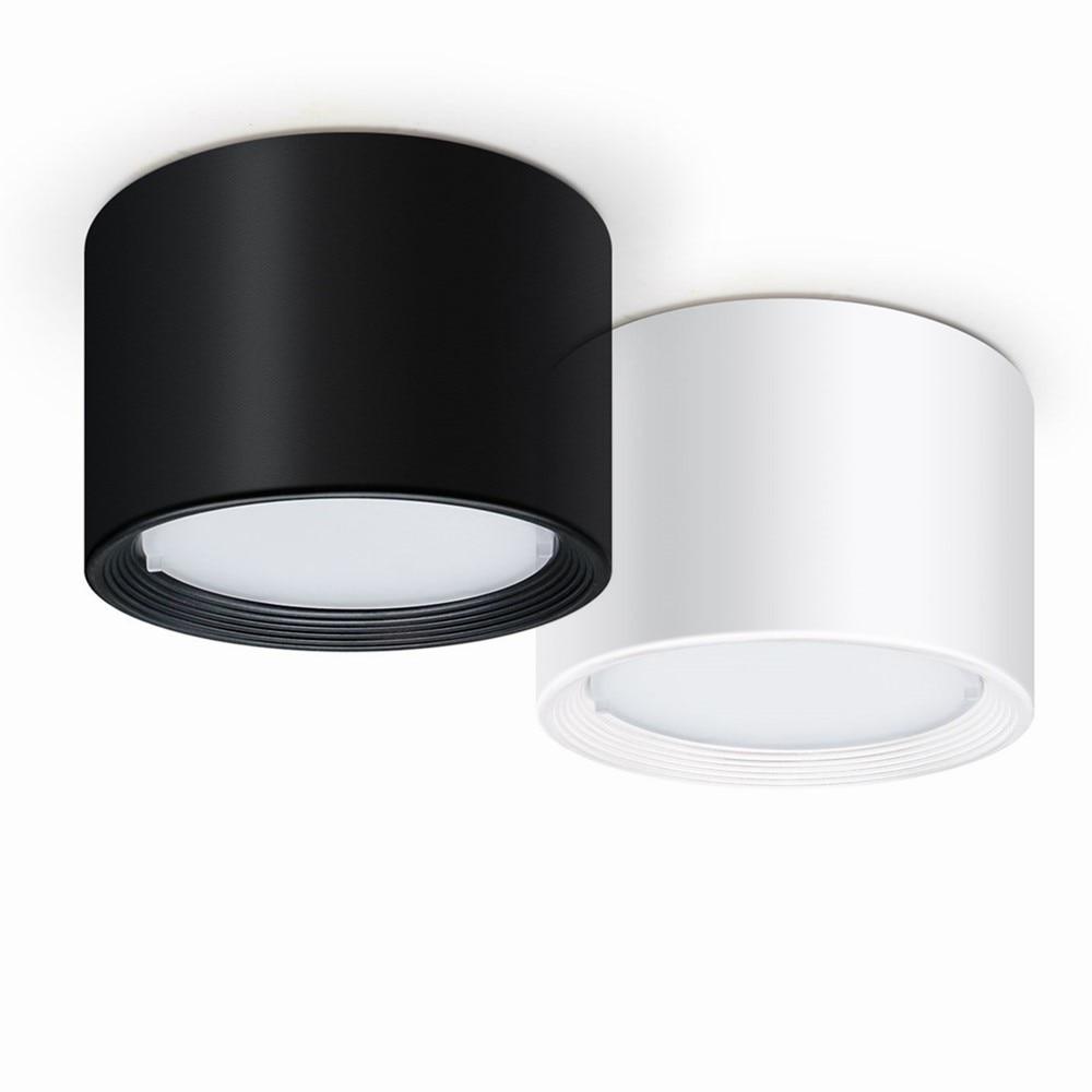 Светодиодный потолочный светильник, с регулируемой яркостью, 12 Вт/5 Вт, 220 В/110 В Полочные светильники      АлиЭкспресс