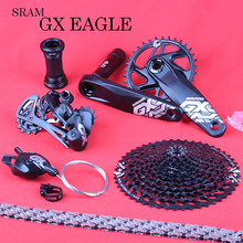 SRAM GX EAGLE 1X12S 10 50T Speed GroupsetชุดDUB 32/34T 170/175มม.Trigger Shifterด้านหลังDerailleur Cassette Crankset DESC