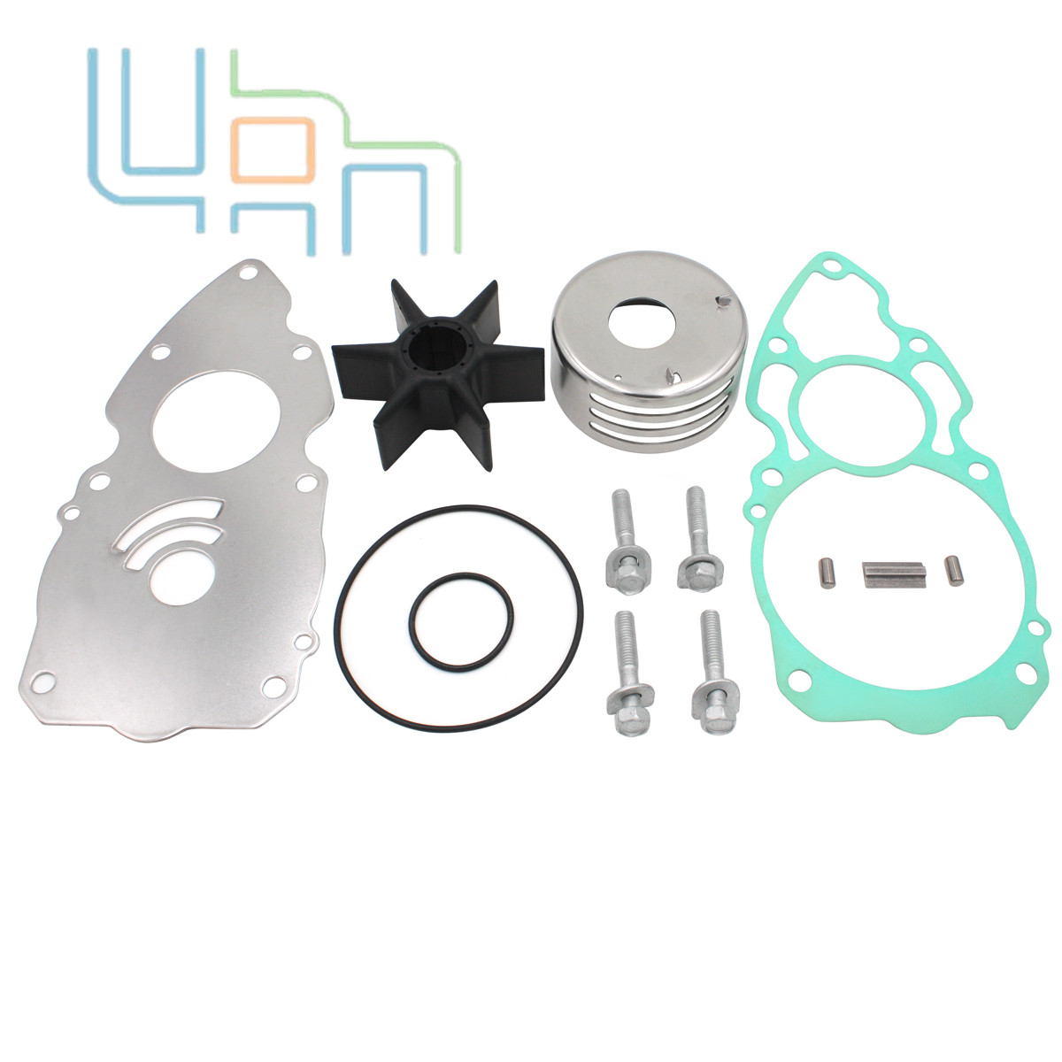NEW AFTERMARKET 6CE-W0078-00-00 YAMAHA WATER PUMP KIT  225//250//300 HP