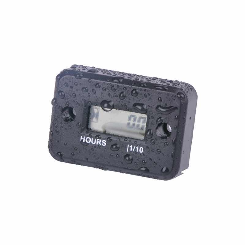Motorcycle Computer Hour Meter With Battery Timer With Inductive Protable Digital Meter Jet Ski Timer Accumulator ATV UTV
