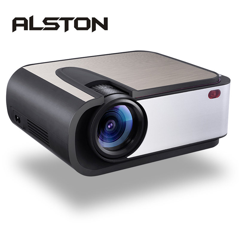 LED Projector ALSTON Home Cinema Full-Hd Wifi-Support Proyect Lumens 2200 1280x720 H89