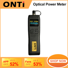 ONTi  70~+6dBm and  50~+26dBm Handheld Mini Optical Power Meter