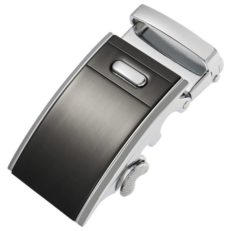 Genuine Men's Belt Head,Belt Buckle, Leisure Belt Head Business Accessories Automatic Buckle Width 3.5CM Luxury Fashion LY187567