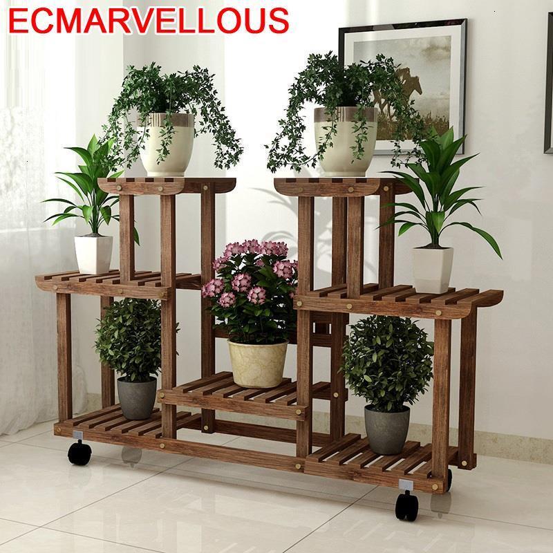 Ladder Estanteria Macetas Mueble Estante Para Plantas Varanda Plantenrekken Rack Outdoor Dekoration Flower Shelf Plant Stand