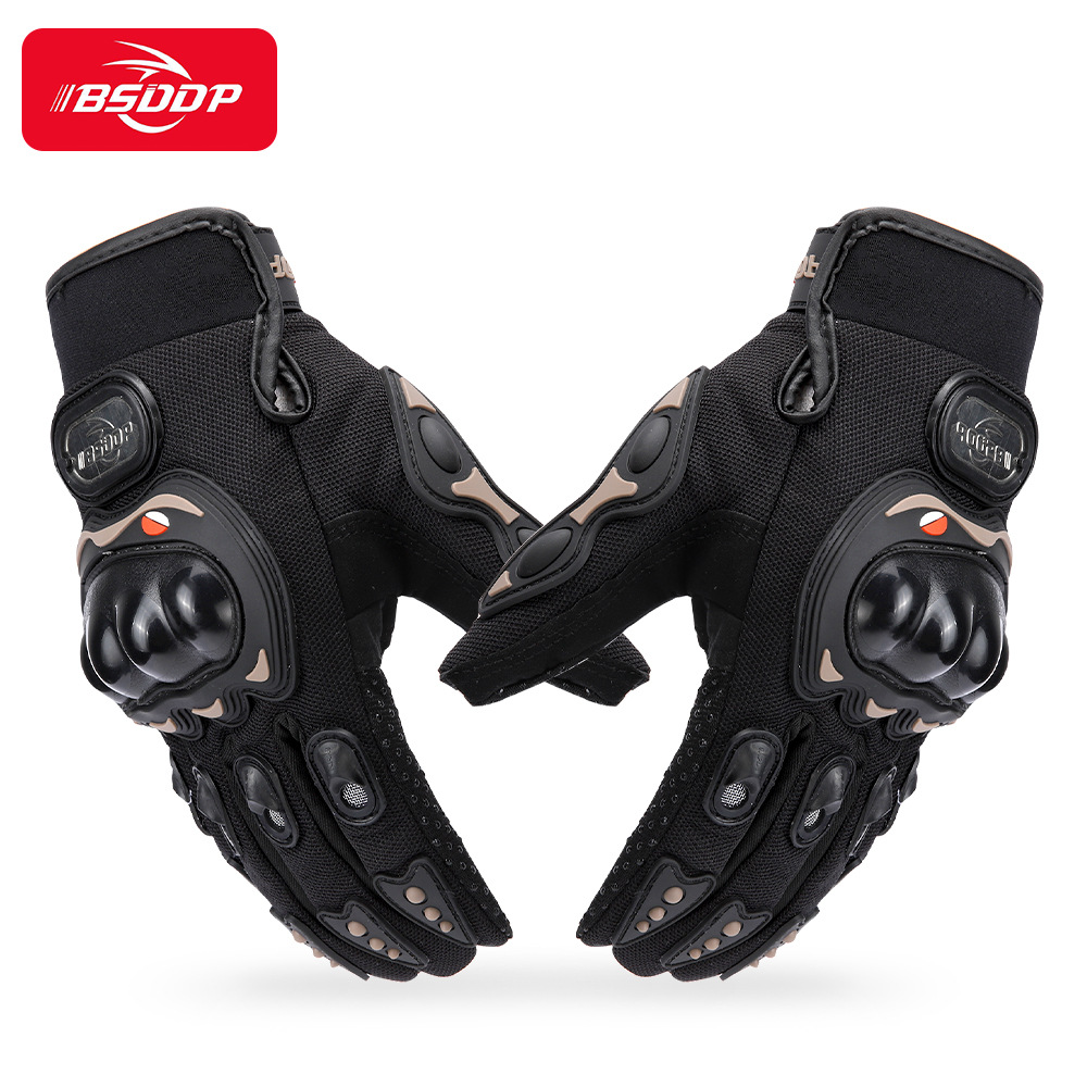 Motorcycle Gloves Winter Warm Full Finger Motocross Gloves for Riding Skiing Racing Outdoor Protection Guantes Moto Gloves