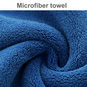 Image 2 - 30x30/40/60CM Car Wash Microfiber Towel Car Cleaning Drying Cloth Hemming Car Care Cloth Detailing Car Wash Blue Towel