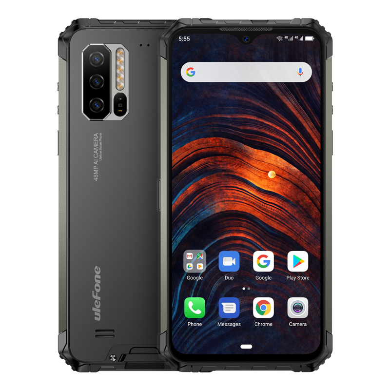 Ulefone Armor 7 IP68 Rugged Mobile Phone Android NFC Helio P90 Octa Core 8GB+128GB 48MP 4G LTE  Global Version Smartphone