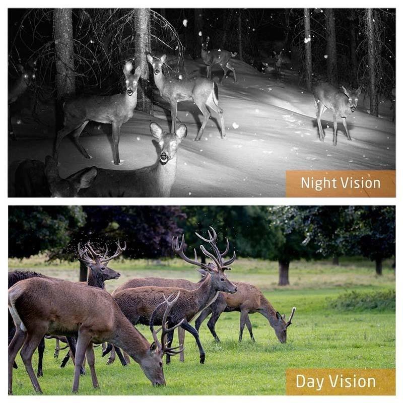 Skatolly HC300M cámara de caza GSM 12MP 1080P foto trampas visión nocturna vida silvestre infrarrojo caza Trail cámaras caza Chasse scout - 6