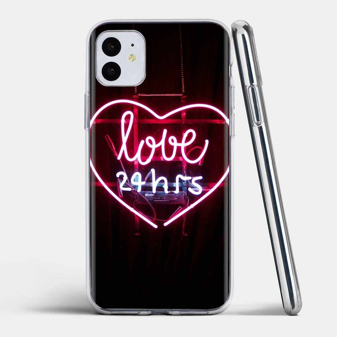 Wallpaper Neon For Iphone 11 Pro 4 4s 5 5s Se 5c 6 6s 7 8 X Xr Xs Plus Max For Ipod Touch Fashionable Silicone Phone Case Fitted Cases Aliexpress