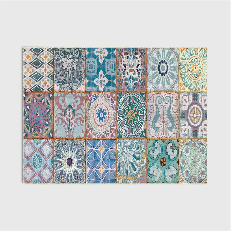 Купить европейский стиль ковер классические наклейки геометрический