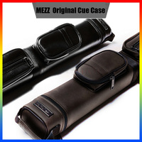 Original MEZZ MO 23 Billiard Pool Cue Case 5 Holes Leather Case 1/2 Kit Stick Hand carved Professional Billiards Accessories
