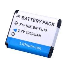 Литий-ионный аккумулятор для Nikon Coolpix S3100 S2600 S2700 S3500 S4100 S4150 S4400 S5200, 1 шт.