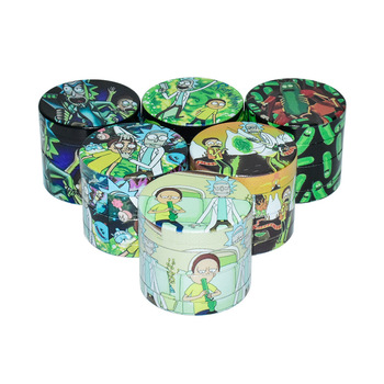 40MM 4-layer Aluminum Alloy Herbal Herb Tobacco Grinder Spice Weed Grinders Smoking Pipe Accessories Gold Smoke Cutter 1