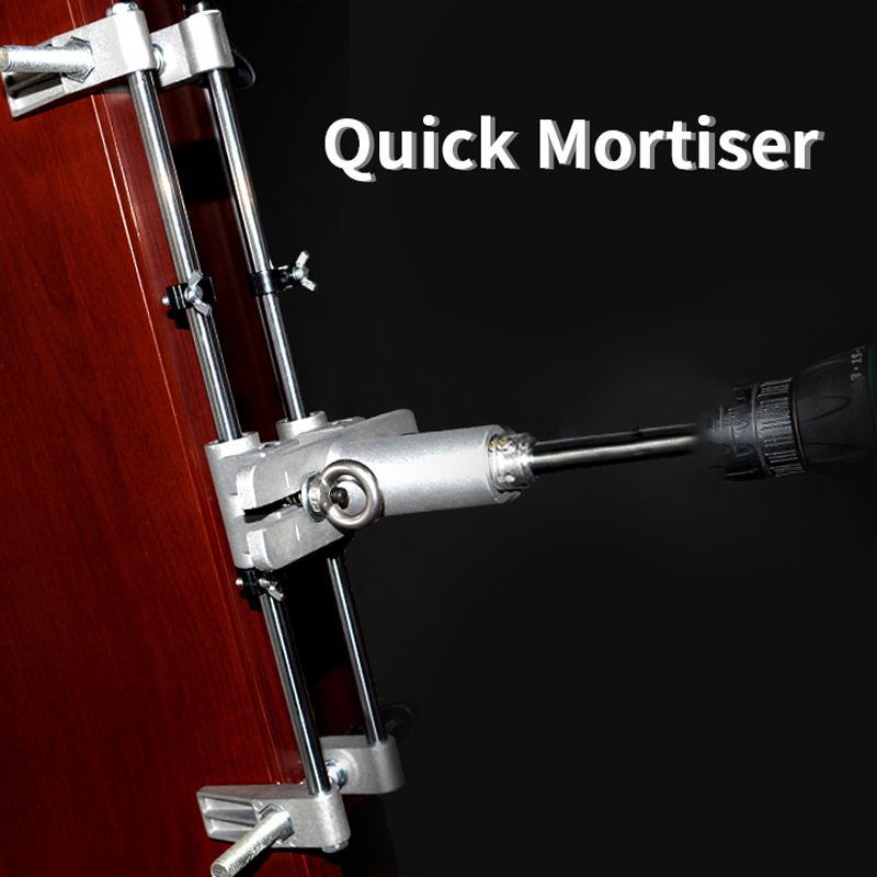 Wooden Door Lock Mortiser Mortice Lock Jig Set Mortice Kit With Wrench High Quality Home Improvement Tool Set