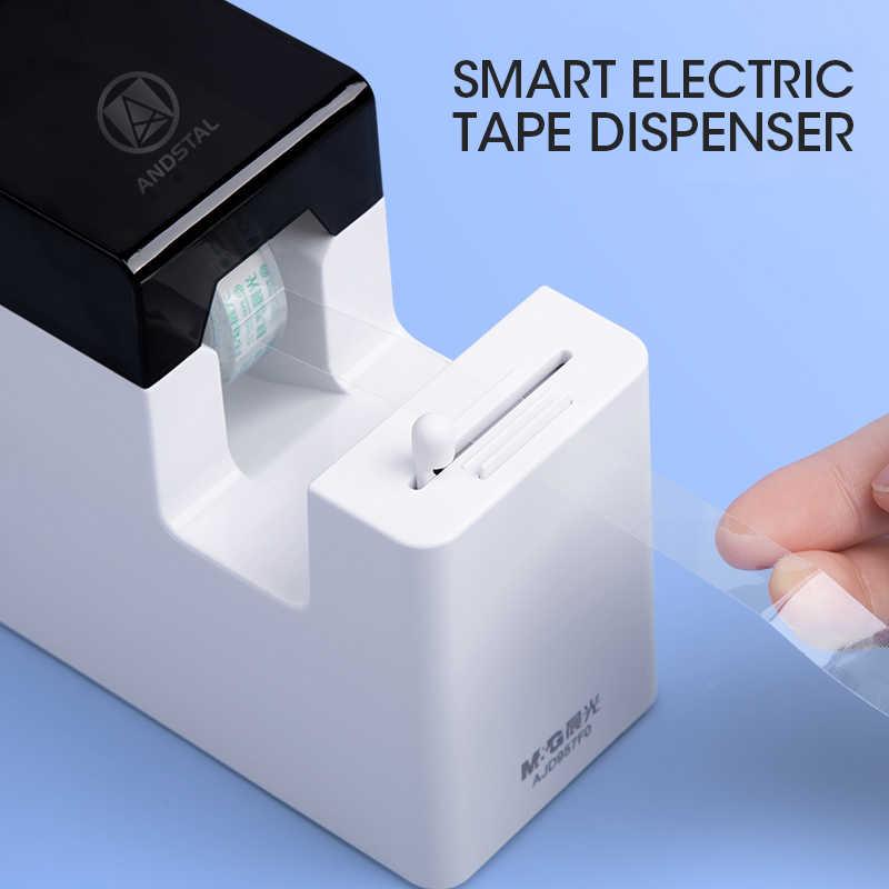 M & G akıllı elektrikli otomatik bant dağıtıcı Washi bant dağıtıcısı otomatik bant kesici kırtasiye ofis okul dağıtıcı malzemeleri