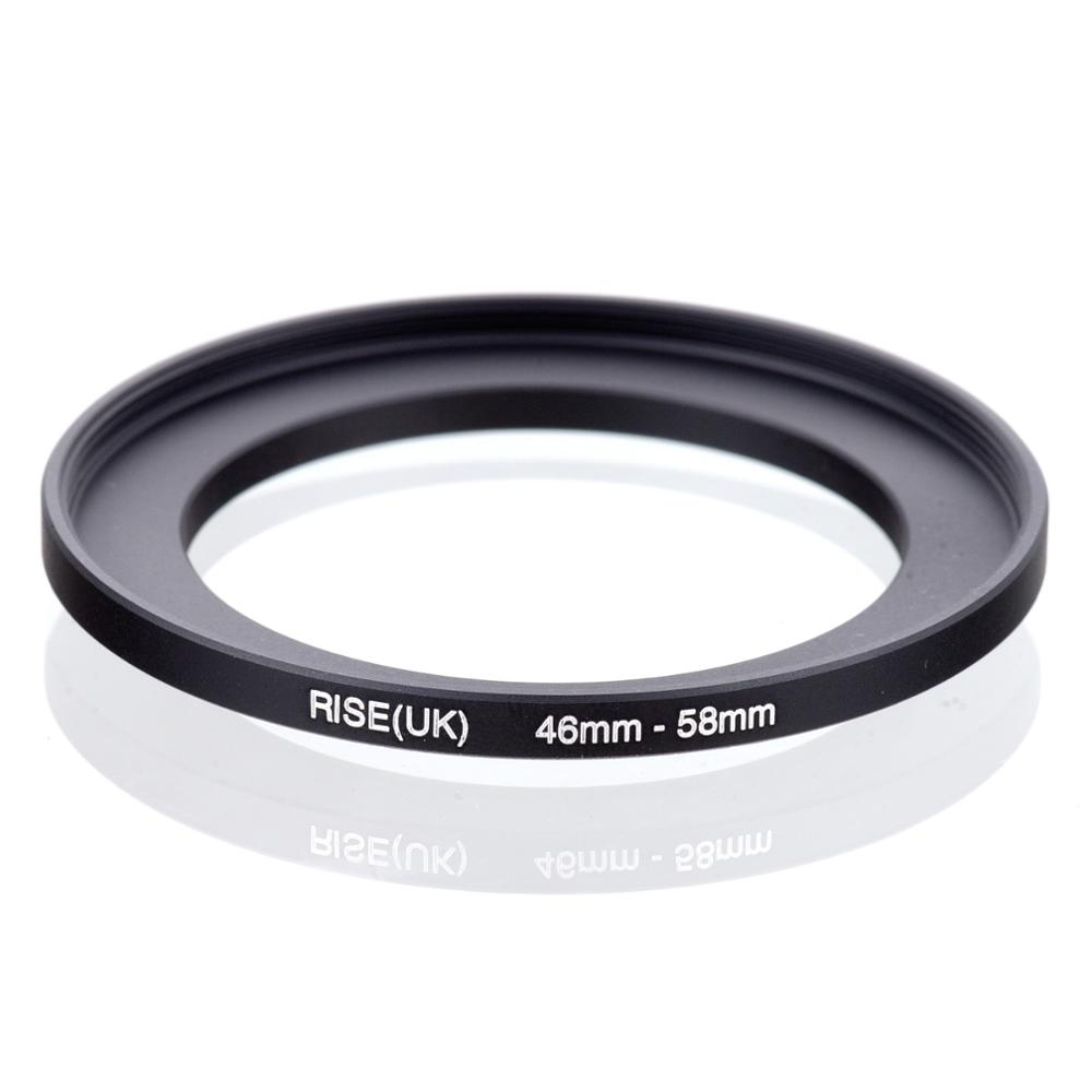 RISE(UK) 46mm-58mm 46-58 Mm 46 To 58 Step UP Filter Ring Adapter
