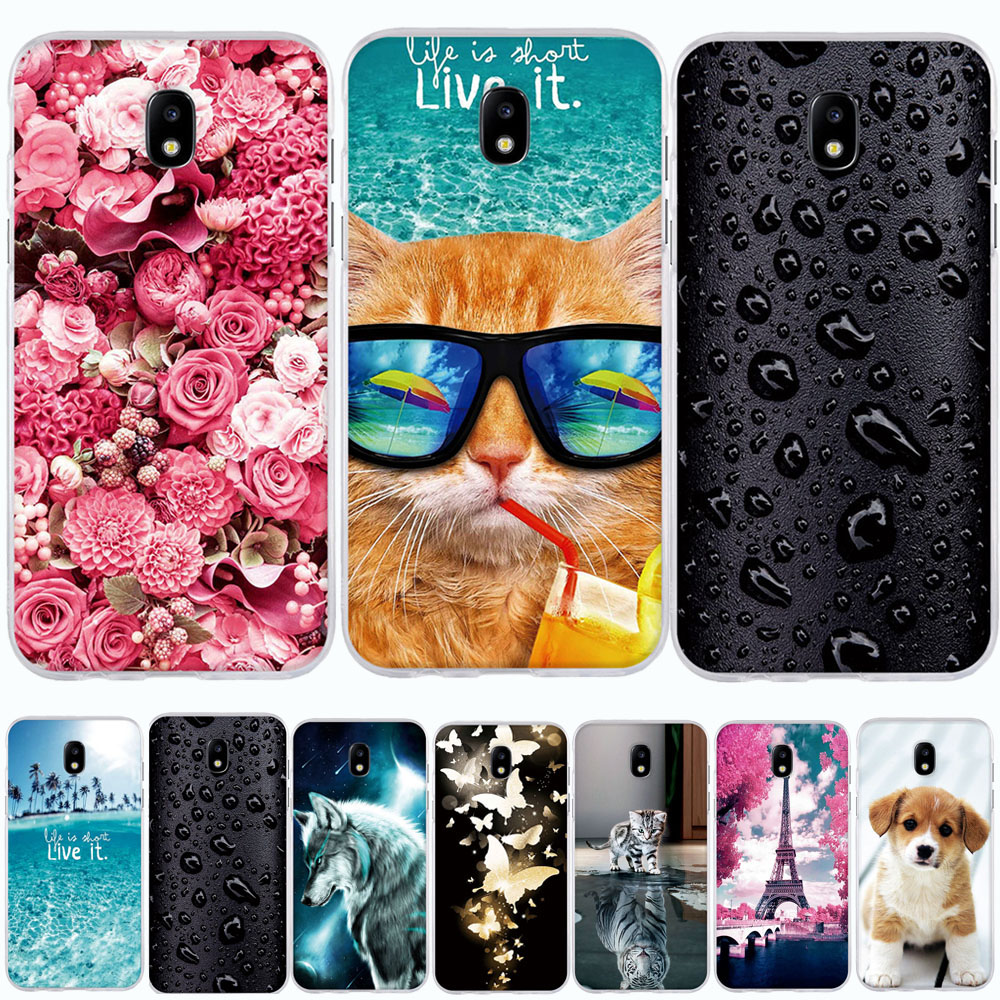 For Samsung J5 2017 Case Silicone 3D TPU Cover For Samsung Galaxy J5 2017 Case Cover For Samsung J5 2017 J530F Phone Case Coque