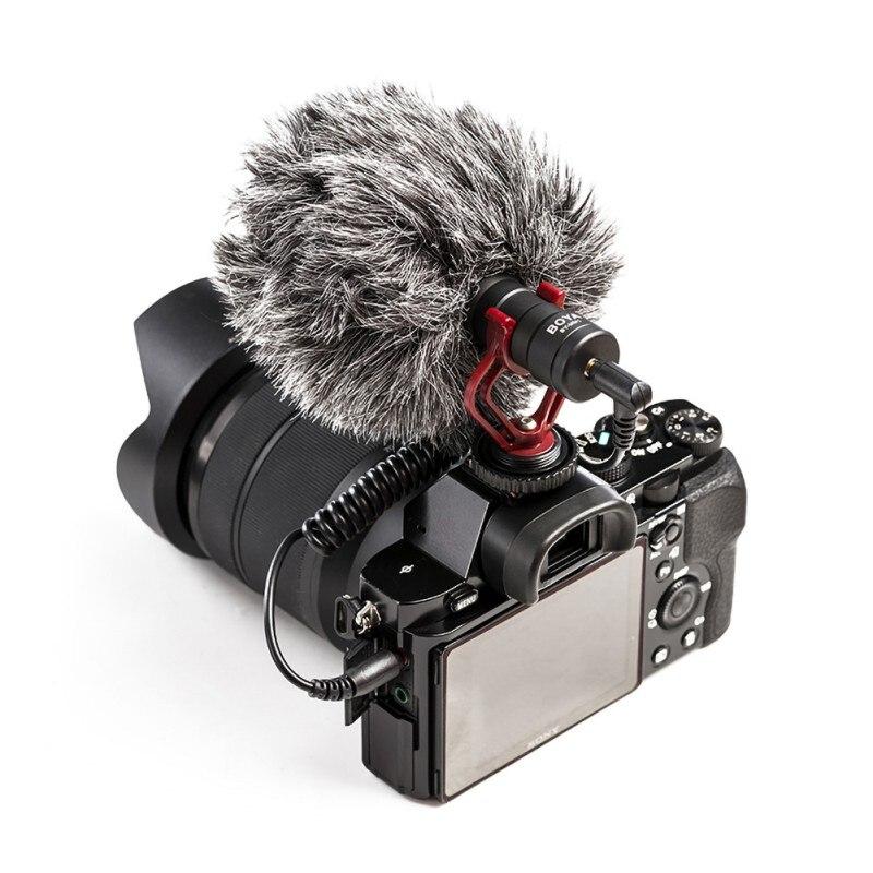 Microphone Camcorders-Recorder Lavalier-Condenser Dslr-Camera BOYA Audio MM1 Nikon Canon