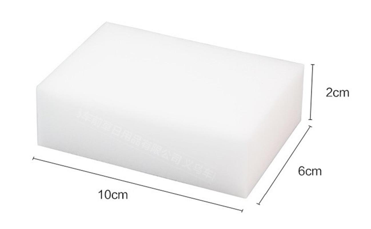 Eraser Cleaner Magic Melamine Sponge Cleaning 10/x 6/x 2/cm 10pz