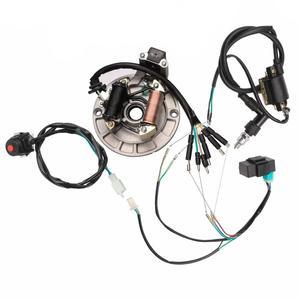 Полная электрика 110cc 125CC провод CDI катушка DIRT BIKE статор Магнето