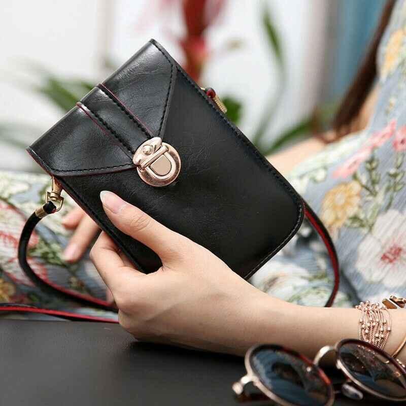 2020 más nuevo de moda para mujeres Vantage Cross-Body teléfono móvil correa de hombro cartera bolsa monedero bolsa de teléfono móvil