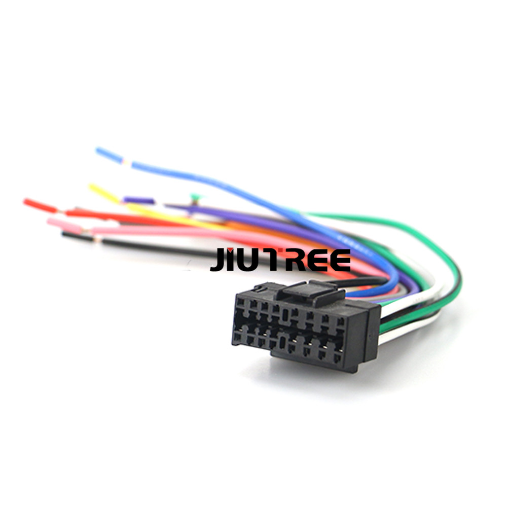 jvc car stereo wiring harness 15 009 car stereo radio wiring harness adapter plug head cable for  15 009 car stereo radio wiring harness