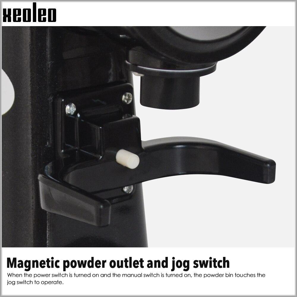 XEOLEO электрическая кофемолка 150 Вт с привидениями зубов 250 г, фрезерный станок для кофе, желтый/белый/черный, бытовая кофемолка - 4