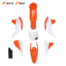 Komplette Körper Kunststoff Kits Für KTM SX125 SX150 SX250 SXF250 SXF350 SXF450 2013 2014 Dirt Bike Motocross Enduro Supermoto