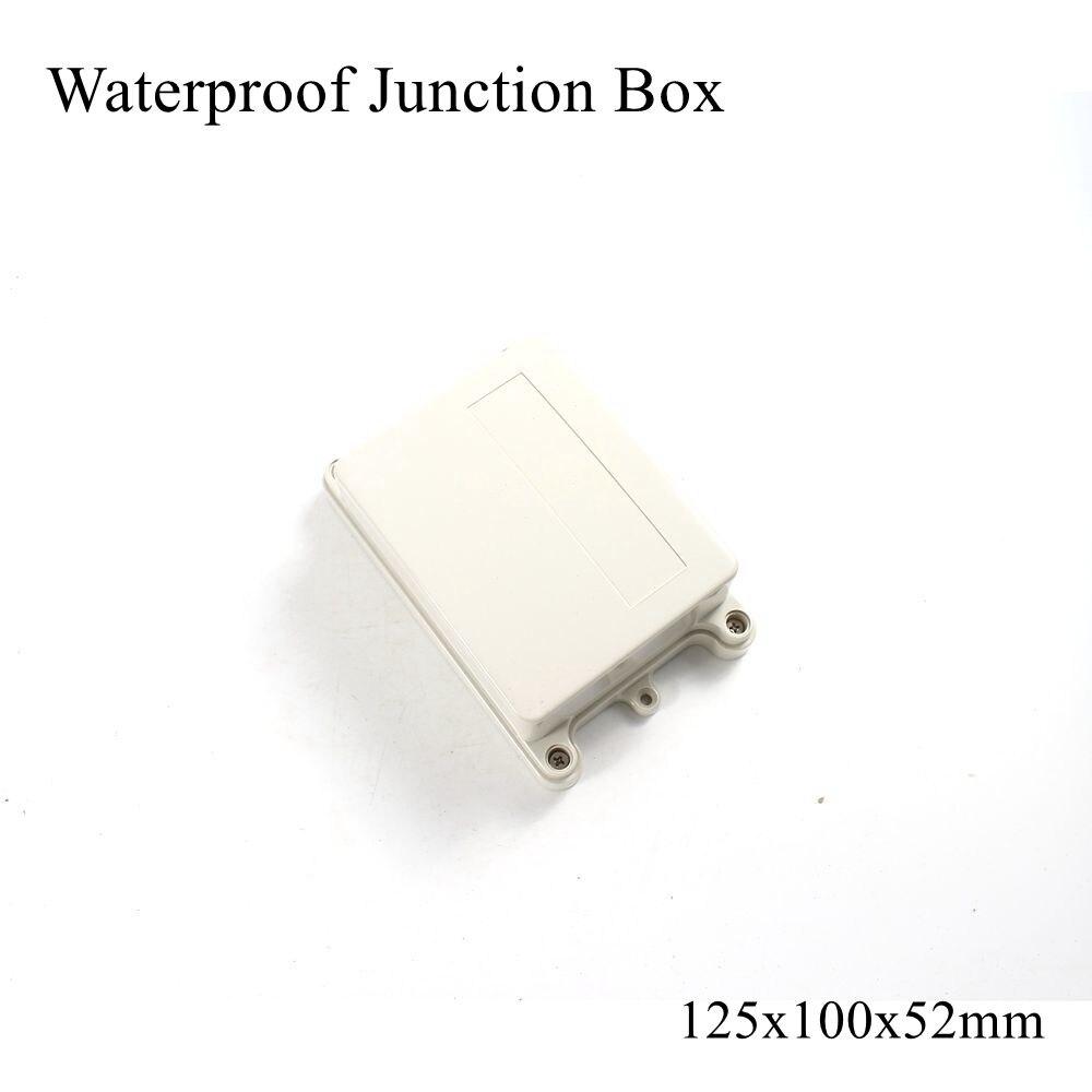 125x100x52 мм водонепроницаемый пластиковый корпус для наружного подключения кабеля распределительный корпус для электрического проекта ABS IP65 125*100*52 мм