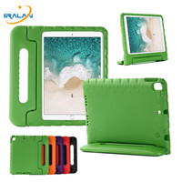 Kids EVA Shockproof Case For iPad 10.2 7th Generation Tablet Cover Handle Stand Case For Apple iPad 10.2 inch 2019+Film+Stylus|Tablets & e-Books Case|Computer & Office -