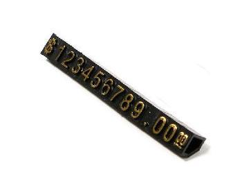 45x5x5mm zegarki z biżuterią odzieży przezroczyste portfelowe etui Tags 20 sztuk tanie i dobre opinie Z tworzywa sztucznego Bags Shoes Garment Garment Tags