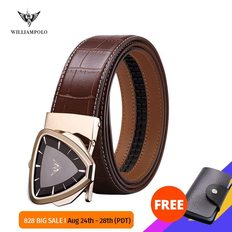 Williampolo Male Belt New Designer Men s Belts Luxury Fashion Belt Luxury Brand for Men High