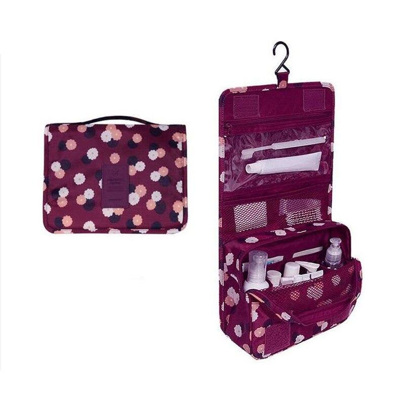 High Capacity Makeup Organizer Bag, Cosmetic Bag For Women, Bathroom Washing Hanging Bags, Grooming Kit, Toiletries