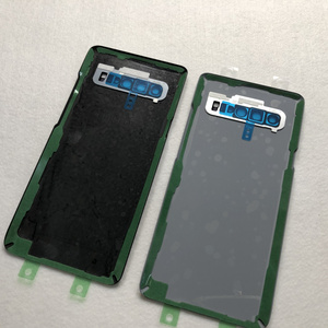 Image 5 - Original For Samsung Galaxy S10 5G G977 G977F 5G version Battery cover Back cover S10 Rear glass screen Rear Glass case