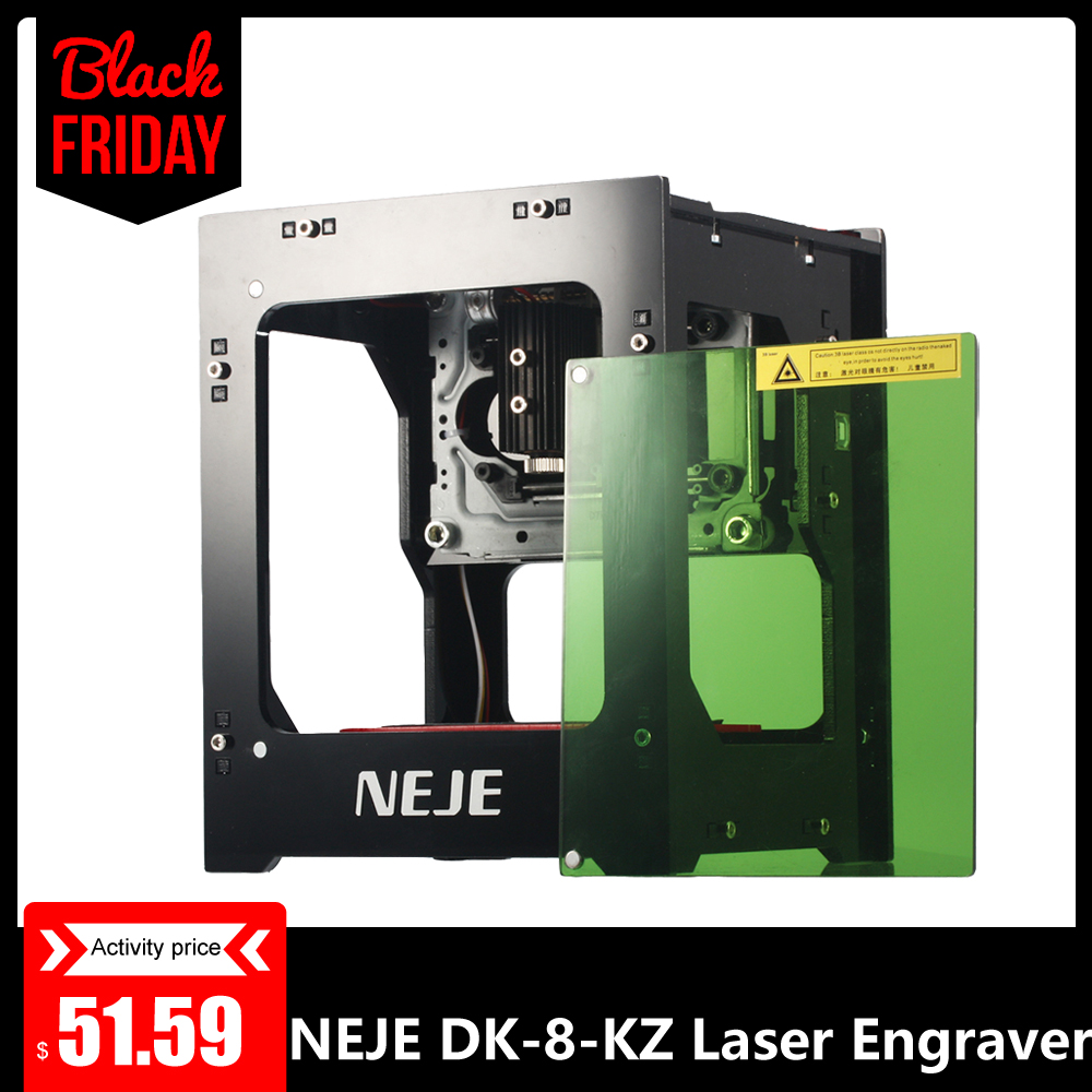 NEJE DK-8-KZ1000mW Professional DIY Mini USB Laser Off-line Operation Engraver Cutter Automatic Print Engraving Carving Machine