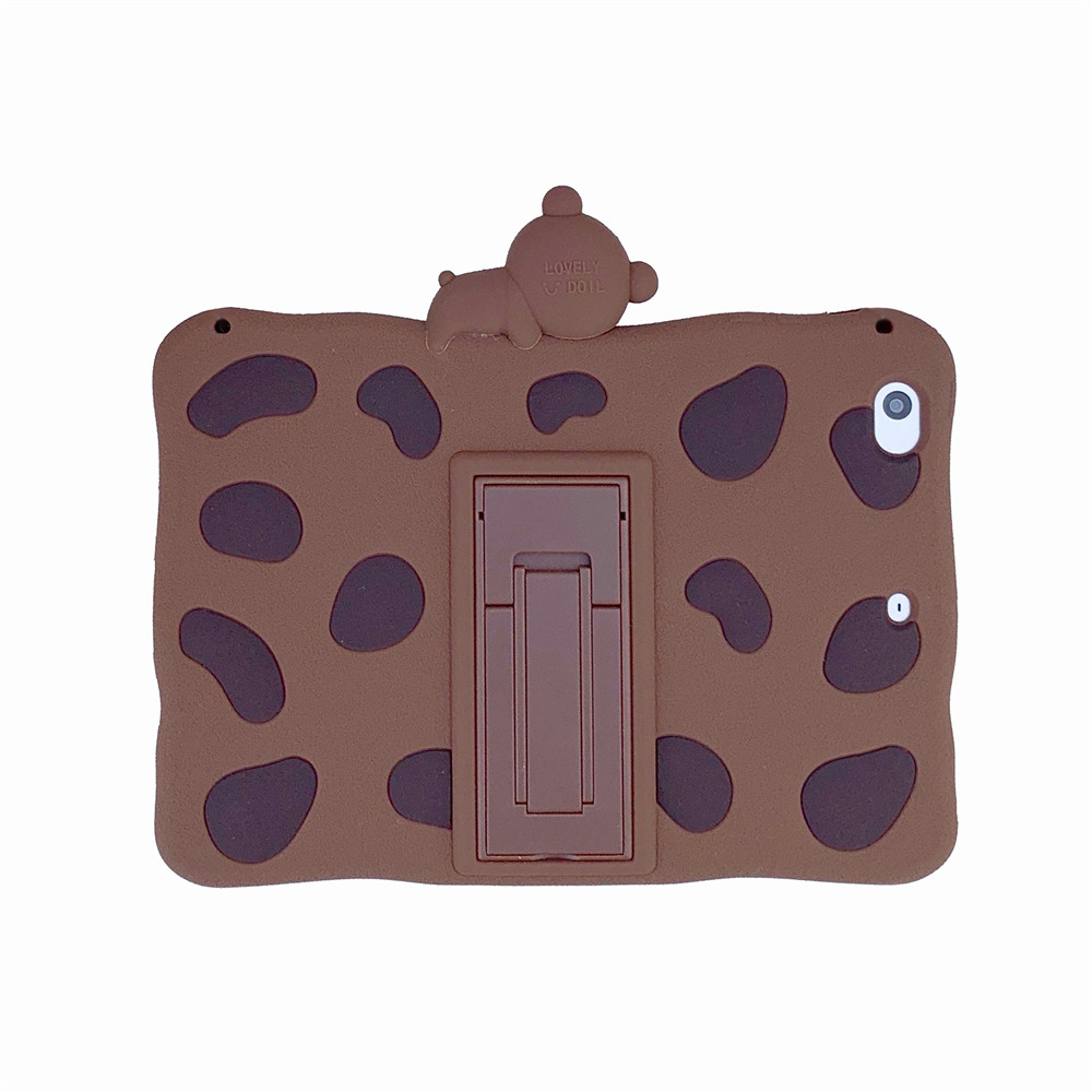 Brown Bear White Kids Stand Soft tablet Capa Case For 2020 ipad pro 11inch Cute Rabbit Cartoon Silicon Funda